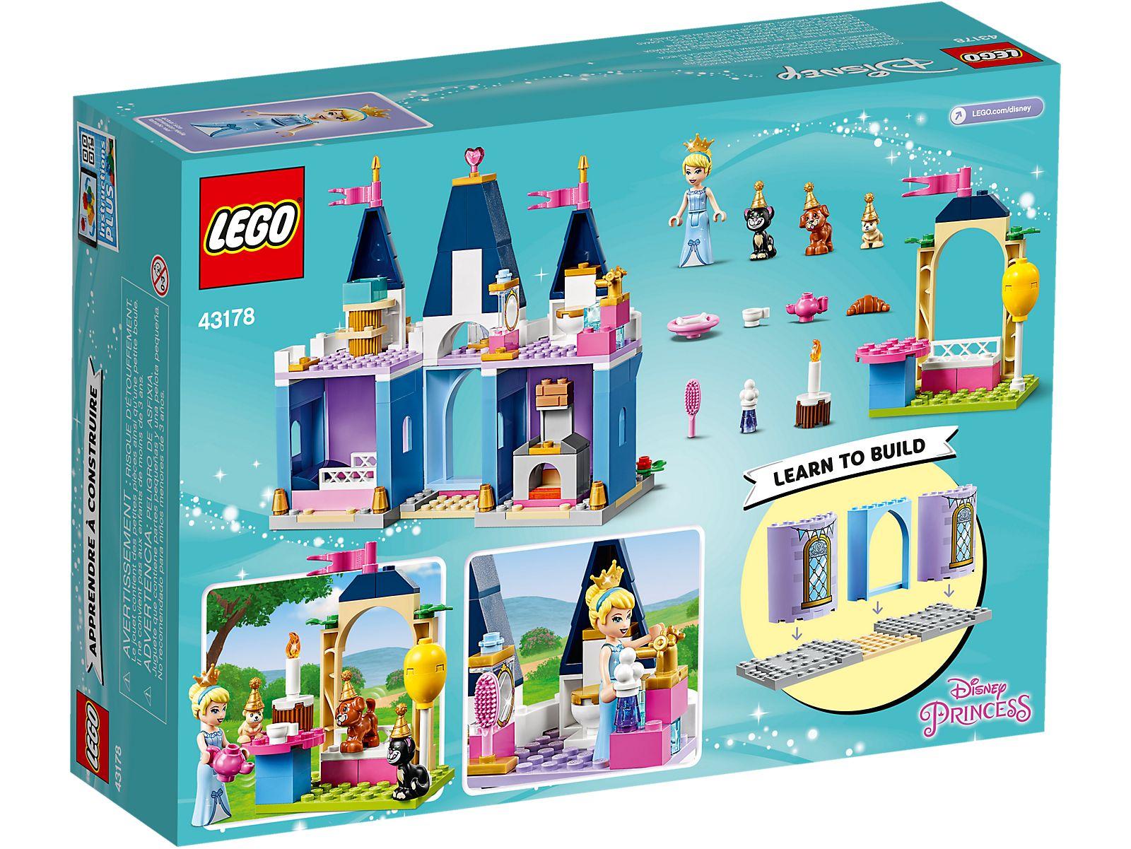 LEGO PRINCESS LA FESTA AL CASTELLO DI CENERENTOLA 43178