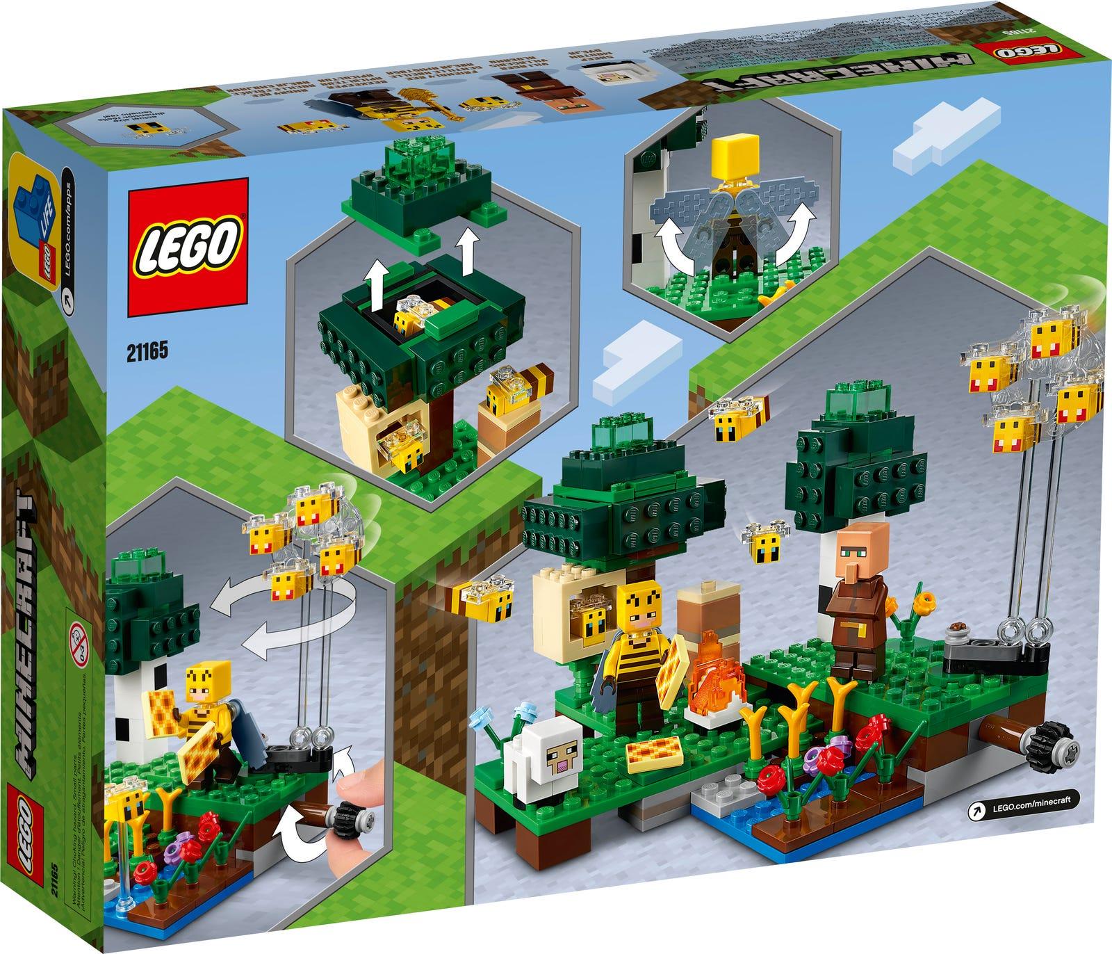 LEGO MINECRAFT LA FATTORIA DELLE API 21165